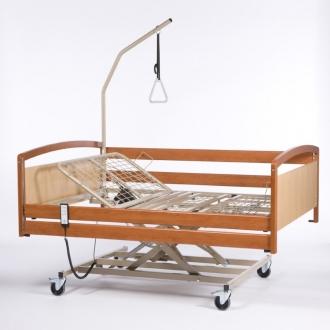 Электрическая функциональная кровать для лежачих больных Interval XXL (в комплекте с матрасом) ширина 140 см