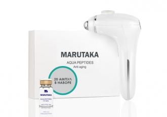 Аппарат LE - порации MARUTAKA LE 4 в 1 + набор ампул Aqua Peptides (20 шт.)