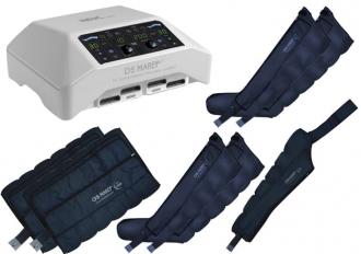 Аппарат для лимфодренажа Mark 300 (Doctor Life MK 300), 4 манжеты для ног, 2 пояса для похудения и манжета на руку