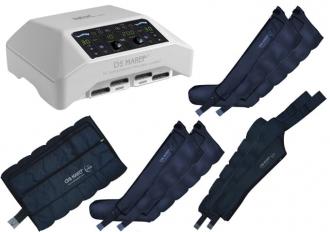 Аппарат для лимфодренажа Mark 300 (Doctor Life MK300), 4 манжеты для ног, пояс для похудения и 2 манжеты для рук