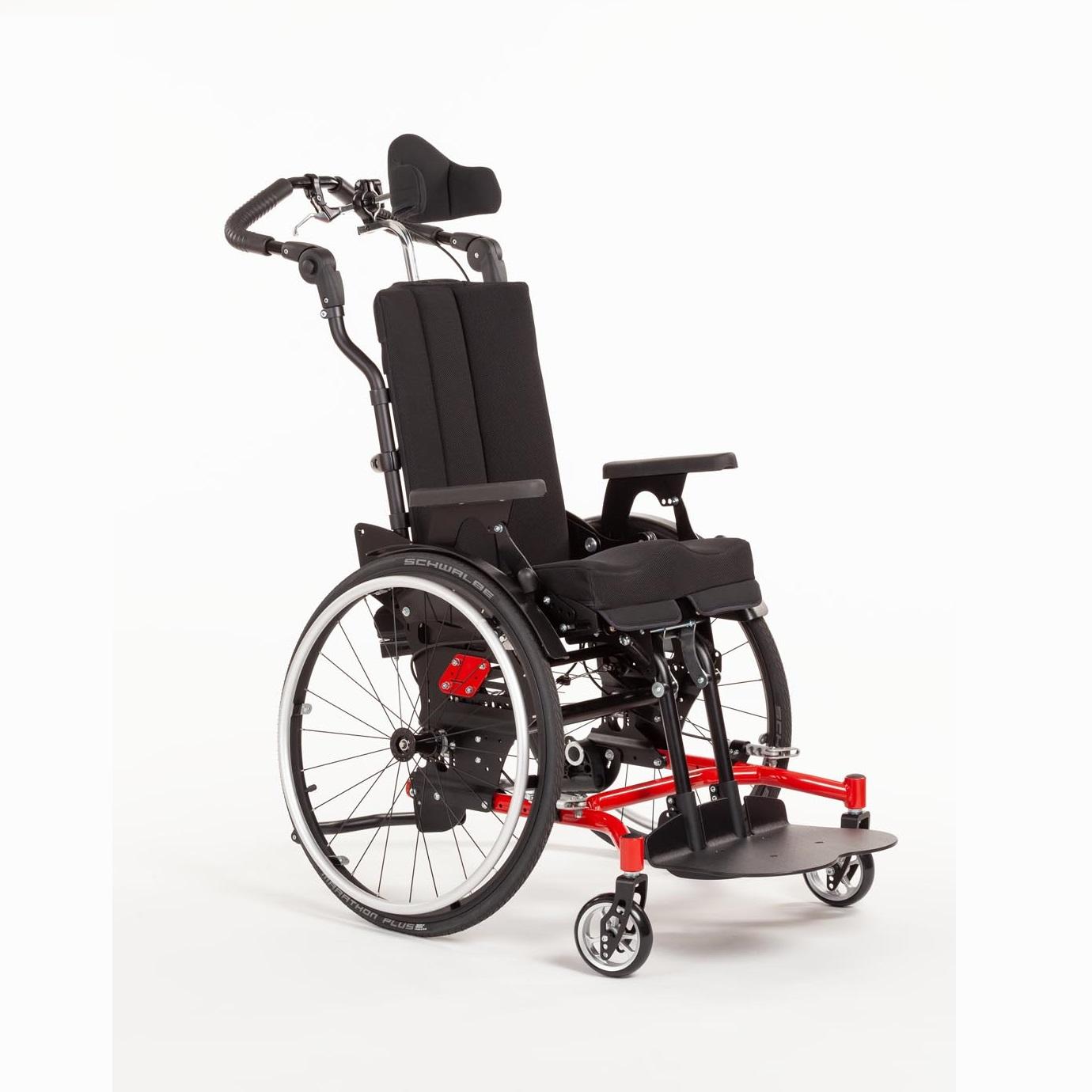 Детская инвалидная коляска активного типа HOGGI SWINGBO-VTi XL