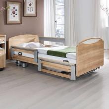 Кровать медицинская электрическая функциональная деревянная с матрасом Stiegelmeyer LIBRA