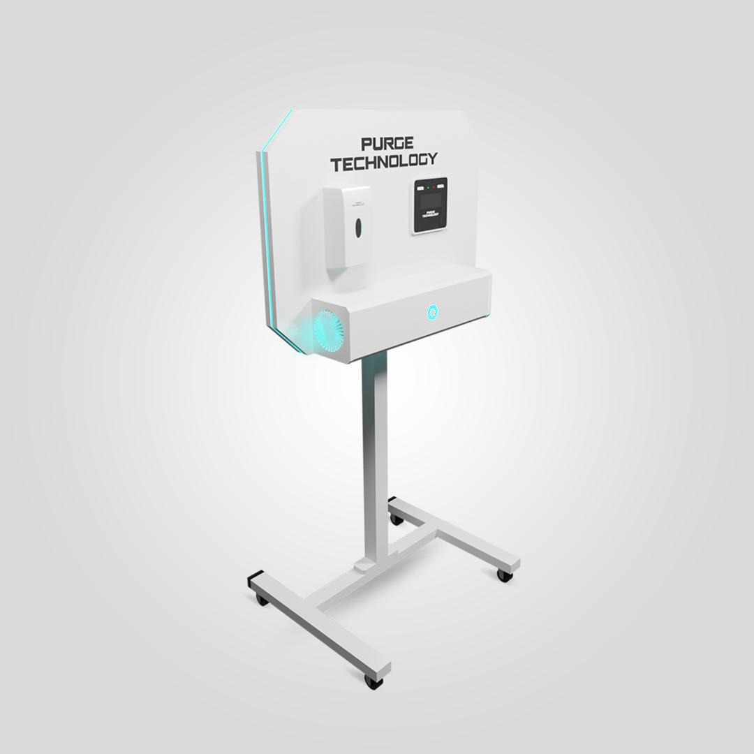 Рециркулятор Purge Technology 011 Стенд Сингл (Белый, Черный)