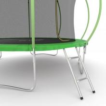 Батут с внутренней сеткой и лестницей EVO JUMP Internal 12ft (Green)