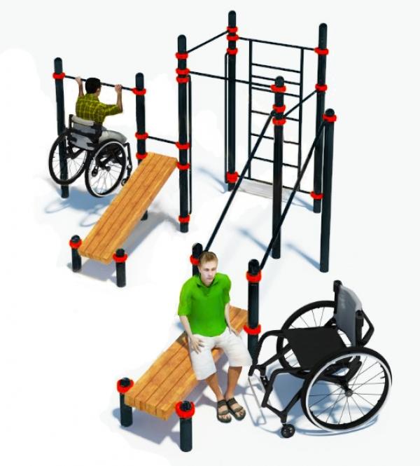 Компекс для инвалидов-колясочников PERFECT W-7.07