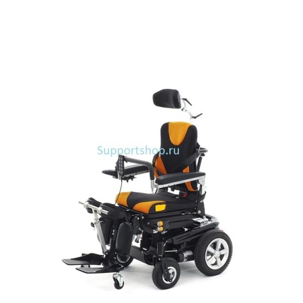 Кресло-коляска электрическая с вертикализатором Power (Vertic 2) Super Trio MT-30