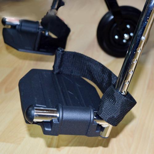 Кресло-коляска инвалидная механическая Модель 711 AE-51 (56, 61) (кож. зам.)