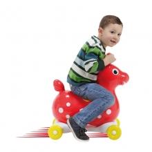 Прыгун резиновый лошадка на колесах SPEEDY RODY