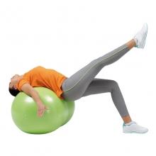 Мяч медицинский физиоролл PLUS, диам. 55 см, длина 90 см, зеленый