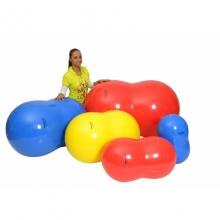 Мяч медицинский физиролл, диам. 55 см, длина 90см, желтый