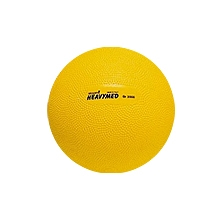 Мяч утяжеленный HEAVYMED 2 кг, диам. 14 см, желтый