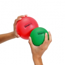 Мяч утяжеленный HEAVYMED 1 кг, диам. 12 см, красный