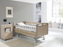 4-х секционная электрическая функциональная кровать Vermeiren Luna DELUX