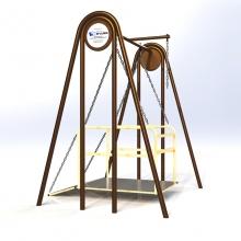 Качели для инвалидного кресла А-0098