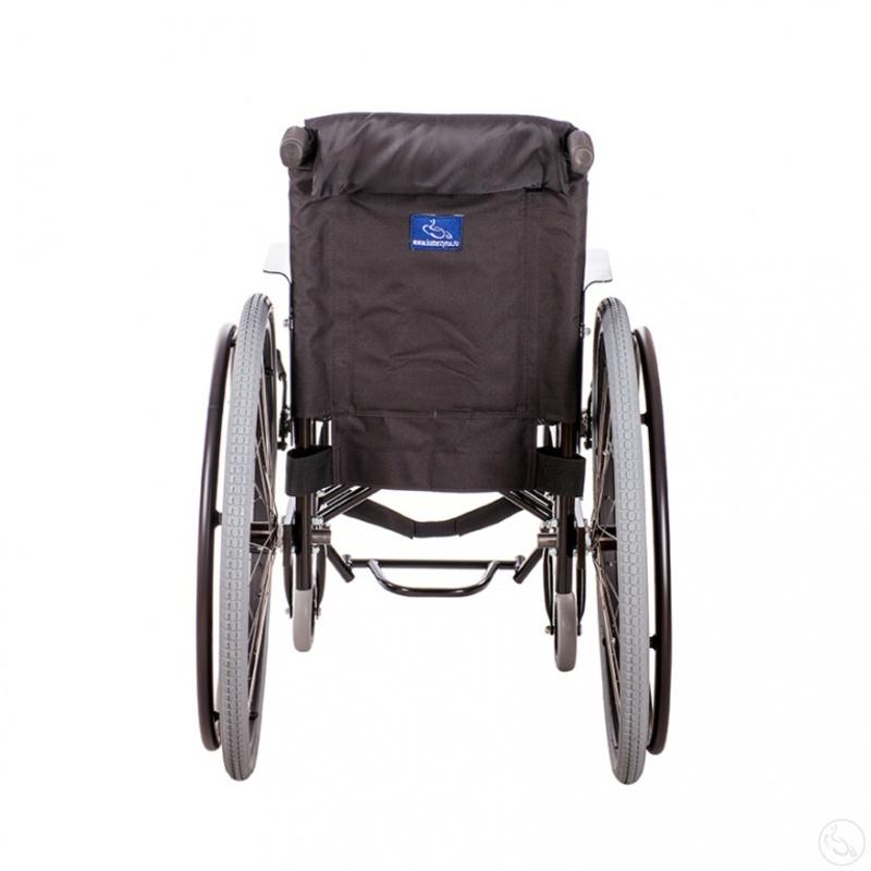 Кресло-коляска активного типа с рамой из стали Катаржина Крошка Ру «Активная»