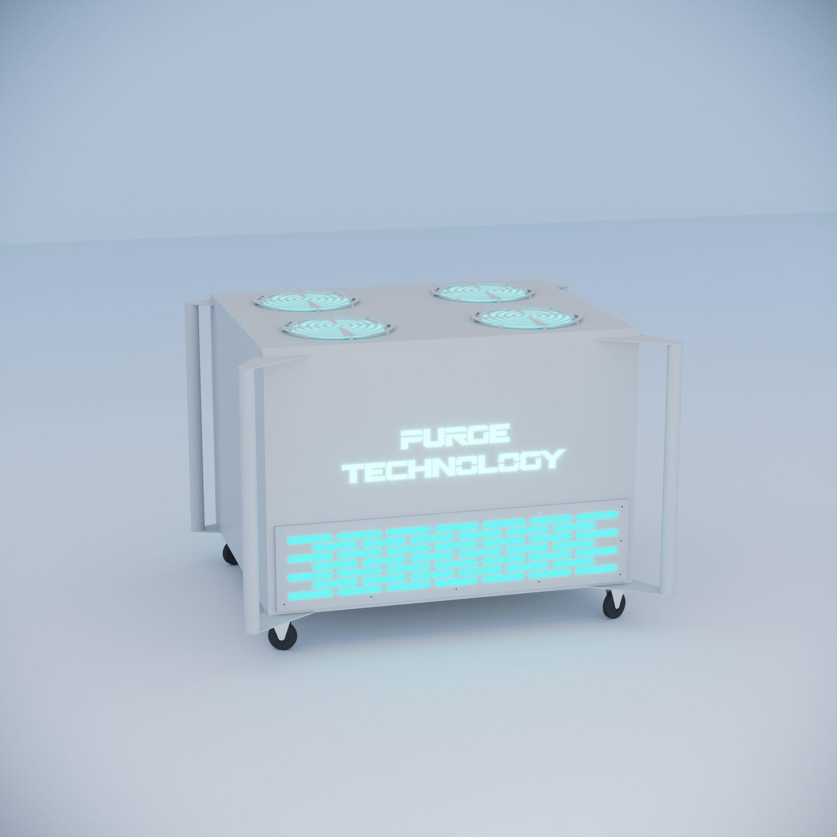 Промышленный рециркулятор PТ-016 Торнадо (Белый, Черный)