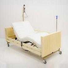 Кровать электрическая медицинская MET Terna (цвет Беленый Дуб)