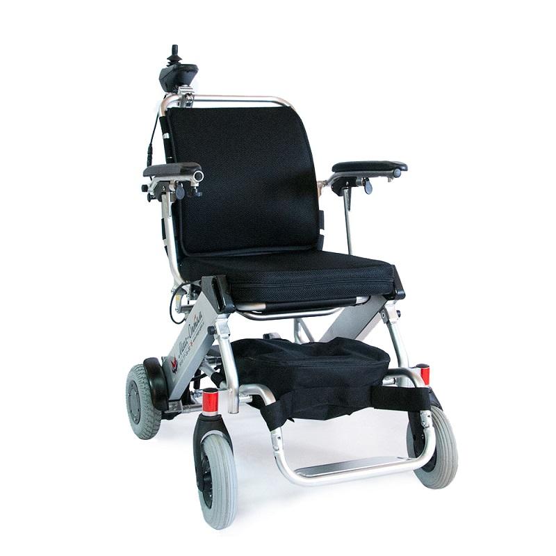 Кресло-коляска электрическая c держателем пульта управления FS 127