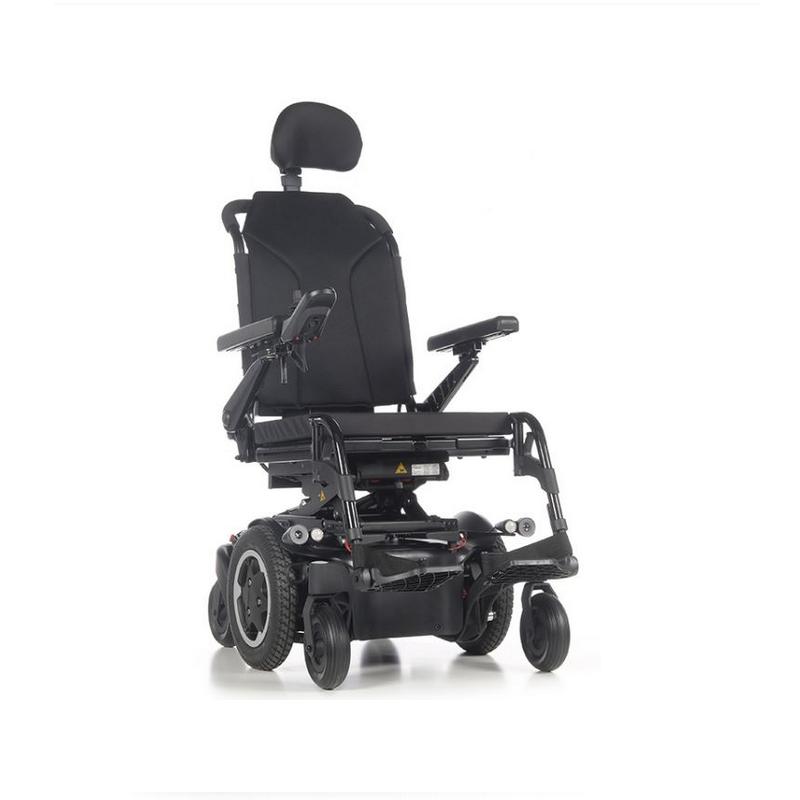 Кресло-коляска с электроприводом QUICKIE Sunrise Q400 M SEDEO LITE