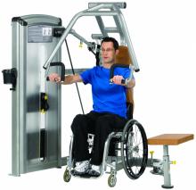 Жим от груди для инвалидов