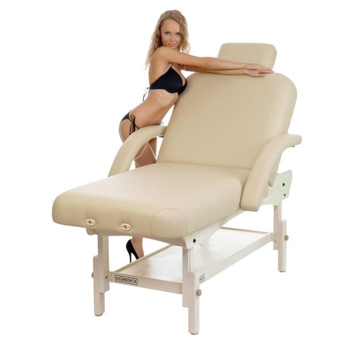 Стационарный массажный стол US MEDICA OLIMP