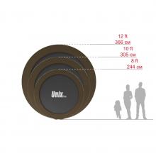 Батут UNIX line Black&Brown 10 ft (outside)