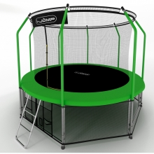 Батут I-Jump Elegant 10FT Green