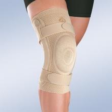 Ортез коленный динамический с полицентрическими ребрами жесткости Orliman 8106