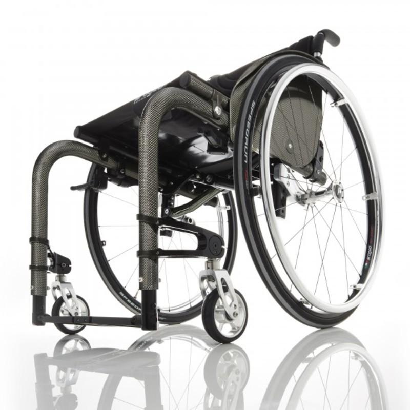 Кресло-коляска с ручным приводом активного типа Progeo Tekna Advance Carbon