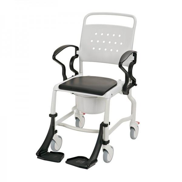 Туалетный стул на колесах Rebotec Бонн (Bonn Black)