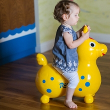 Прыгун резиновый лошадка RODY