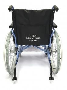 Кресло-коляска инвалидная складная с принадлежностями LY-710 (710-070/43-L/46-L/48-L)