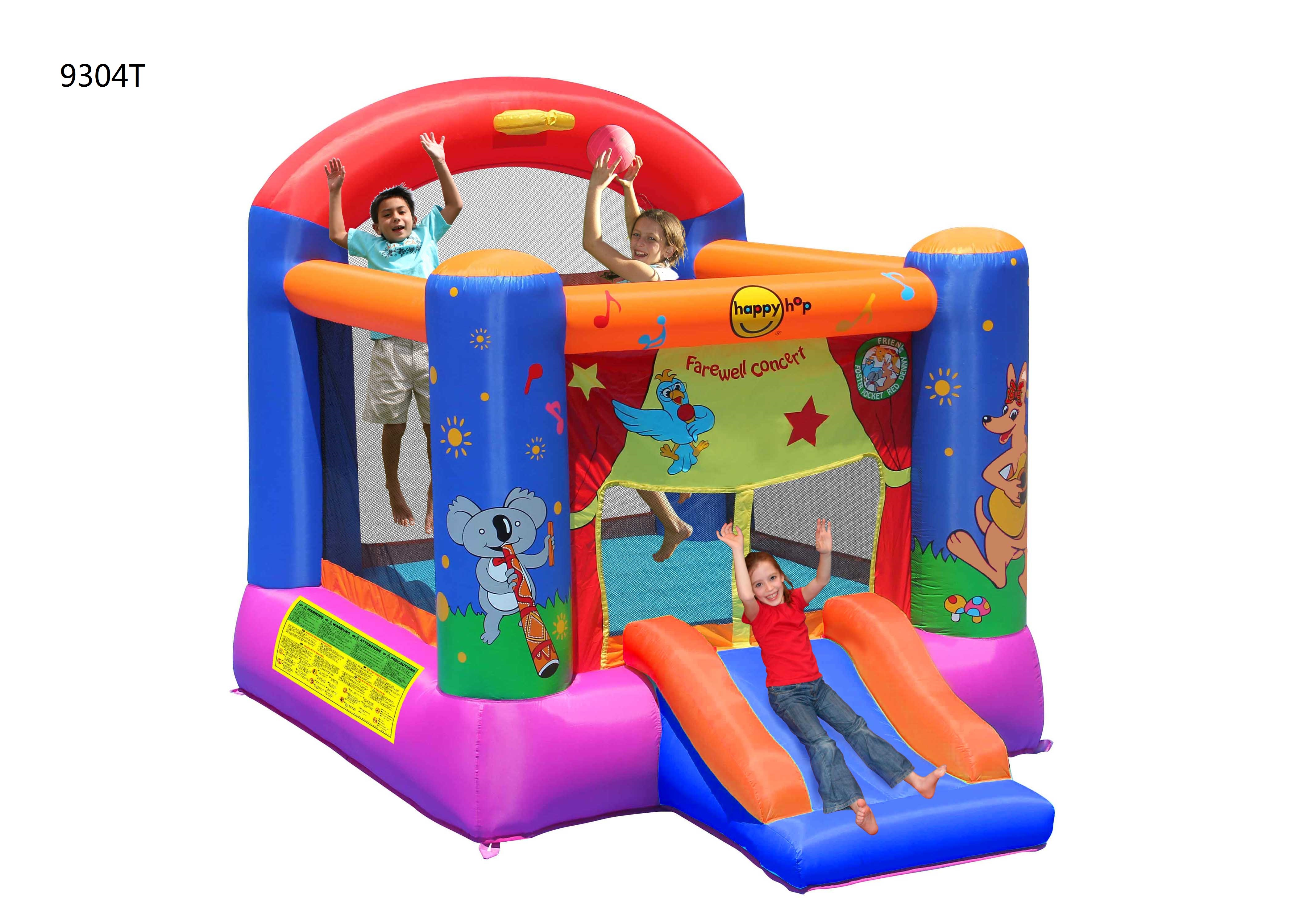 Детский надувной Батут HAPPY HOP «Представление» 9304T