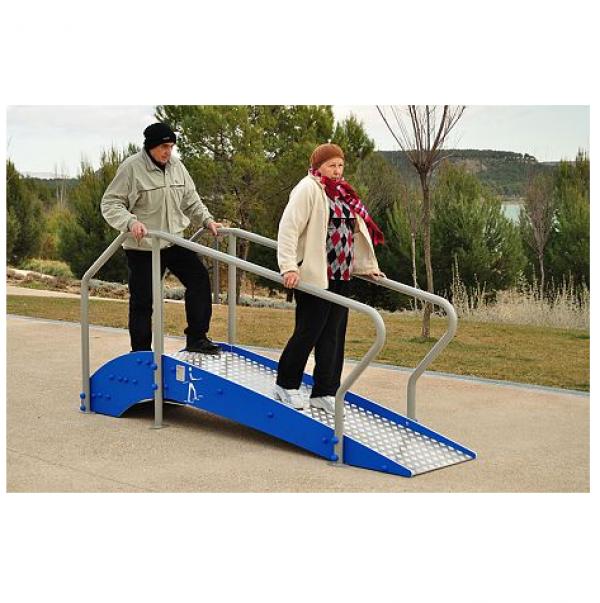 Тренажер для пожилых Горка с пандусом УТИп-058
