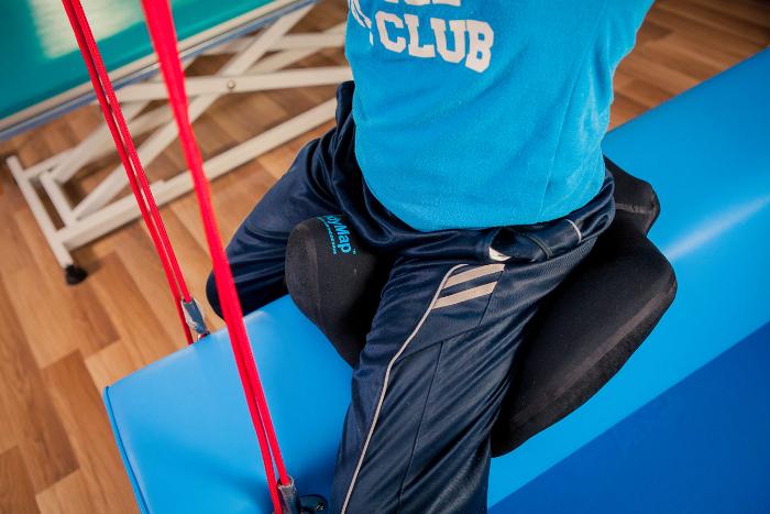Подушка для сидения стабилизирующая таз с межбедренным клином BodyMap A+