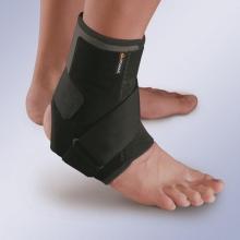 Ортез для голеностопного сустава и стопы с эластичным ремнем и анатомическими фиксирующими пластинами Orliman EST-084
