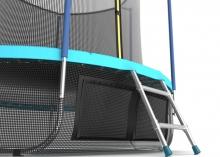 Батут с внутренней сеткой и лестницей EVO JUMP Internal 10ft (Wave)