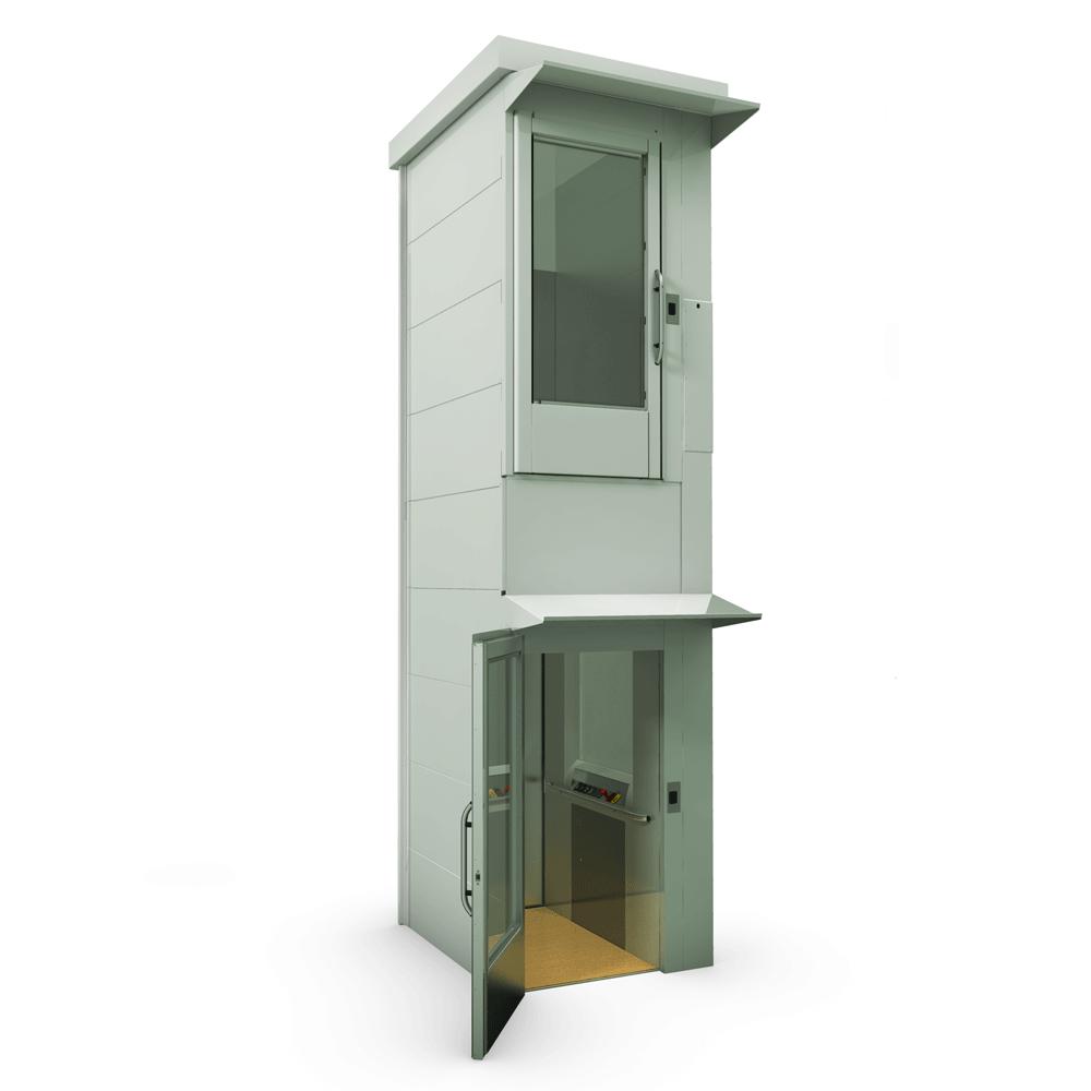 Подъемник для инвалидов вертикальный с шахтой ИНВАПРОМ А1