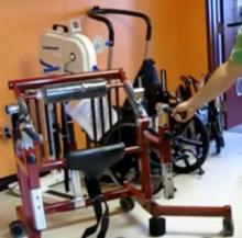 Ходунки адаптивные для восстановления навыков ходьбы