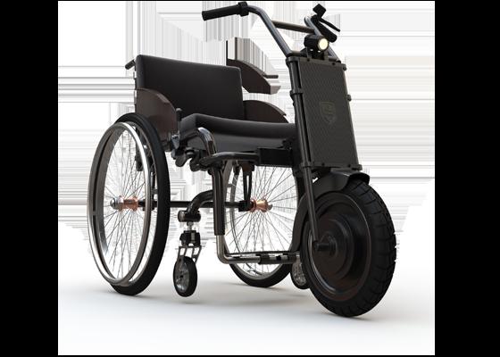 "Электроприставка для инвалидной коляски UNAwheel Maxi 14"""
