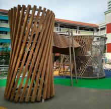 Игровой лазательный комплекс Торнадо