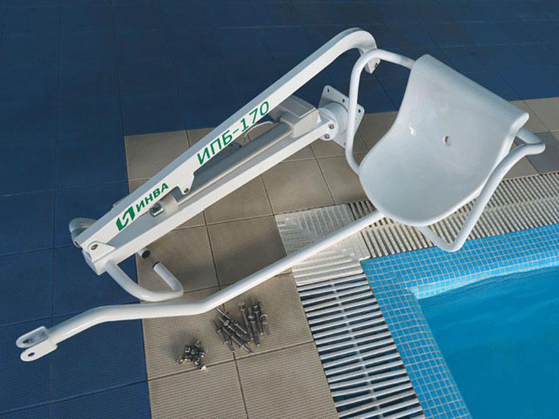 Подъемник для бассейна Енисей ИПБ-170Э  (с электроприводом LINAK и аккумулятором)