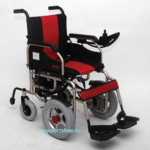 Инвалидная коляска складная с электроприводом LK 1008