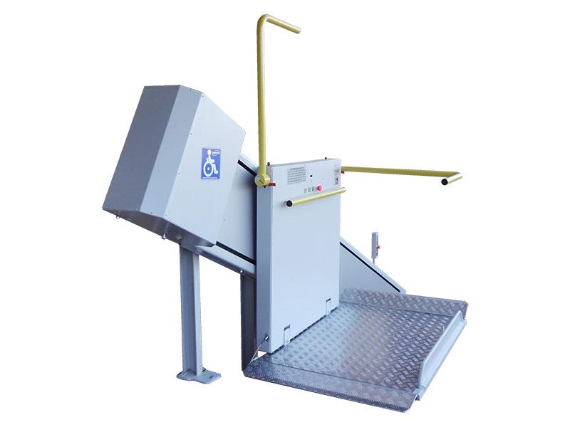 Наклонная подъемная платформа для инвалидов ИНВАЛИФТ