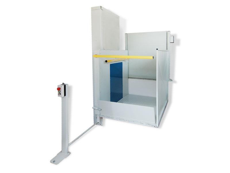 Подъемник для инвалидов вертикального перемещения МУЛЬТИЛИФТ