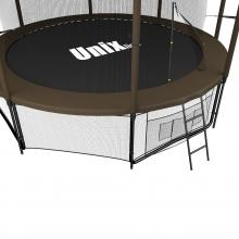 Батут UNIX line Black&Brown 10 ft (inside)