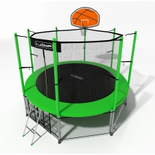 Батут I-Jump Basket 8FT Green