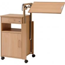 Медицинская прикроватная тумбочка с поворотным столиком Burmeier Cherusker