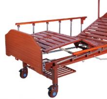 Кровать электрическая Med-Mos DB-7 (МЕ-2028Н-10) (2 функции) с полкой и накроватным столиком