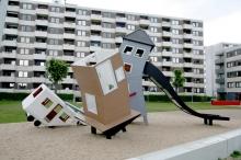 Детская игровая площадка Танцующие домики 2